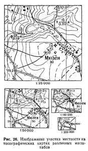Как узнать масштаб карты зная расстояние на карте и на местности