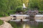 "Фонтан-водопад и ""Космос"". Фото из интернета"