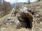 Основной вход-спуск в пещеру